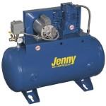 Jenny Compressors K15A-30-460/3 1.5-HP 30-Gallon Tank 3 Phase 460-Volt, Horizontal Electric Single-Stage Stationary Compressor