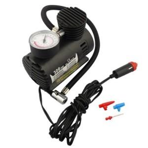 300 PSI 12Volt Mini Portable Air Compressor 12 Volt Emergency Car and Electric Pump Tire Inflator