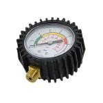 0-16 Bar Intensity Air Pressure Barometer Compound Gauge Black White
