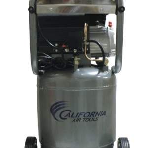California Air Tools CAT-210DLV DLV 2.0 Hp 10.0-Gallon Steel Tank Oil-Lubricated Air Compressor