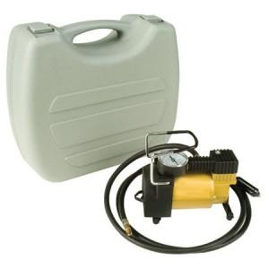 Weston Gear Portable 12-Volt Mini Air Compressor Pump, 1/4 hp Motor (84-3001-W)