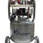 California Air Tools CAT-10200-22060 Ultra Quiet and Oil-Free 2.0 HP 10.0-Gallon Steel Tank Air Compressor