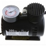 ZPS New Portable 12V Auto Electric Air Compressor Tire Inflator Pump 300 PSI for Car Motorcycle