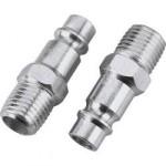 Milton V-Style Hi-Flo Steel Plug - 1/4in. MNPT, Model# S760-1 [Misc.]