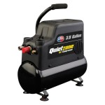 All Power America APC4408 Quietzone 3/4 HP 3.5 Gallon Oil-Less Air Compressor with Accessories