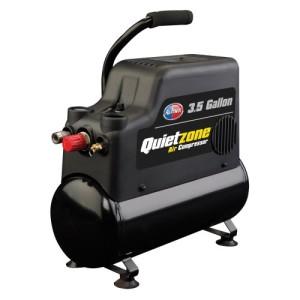 All Power America APC4408 Quietzone 3/4 HP 3.5 Gallon Oil-Less Air Compressor with Accessories