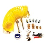 Primefit IK1016S-20 Air Accessory Kit with 25-Foot Recoil Air Hose, 20-Pieces