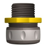 Nelson 5/8-Inch and 3/4-Inch Composite Compression Fit Hose Repair, Male 50400