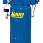 Jenny Compressors K1A-30V-208/3 1-HP 30-Gallon Tank 3 Phase 208-Volt, Vertical Electric Single-Stage Stationary Compressor