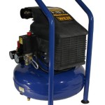 WEN 2275 Oil Lubricated Pancake Air Compressor, 5-Gallon