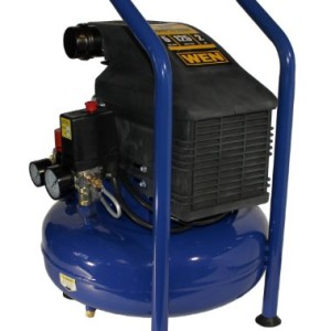 WEN 2275 Oil Lubricated Pancake Air Compressor, 5-Gallon