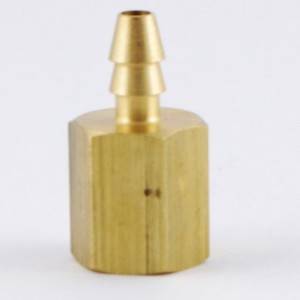 "0.17"" Hose ID, 1/8"" NPT Female Hose/Tubing Fitting Connector Double Barb"