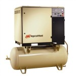 120 Gallon Rotary Screw Air Compressor with Integral Air Dryer