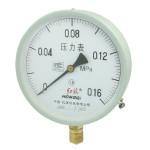 0-0.16MPa 20mm Thread Diameter Round Face Water Air Pressure Gauge Y-150