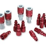 Legacy A73458D Color Connex Type D 14 Piece. 1/4 in. Red Coupler and Plug Kit