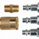 5 Piece Quick Coupler Compressor Starter Set