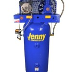 Jenny Compressors F34A-30V-115/1 3/4-HP 30-Gallon Tank 1 Phase 115-Volt, Vertical Electric Single-Stage Stationary Compressor