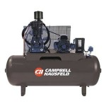 Campbell Hausfeld Two-Stage Air Compressor 7.5 HP, 24.3 CFM @ 175 PSI, 20...