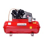 120 Gallon Professional Series 2 Stage 30 HP Horizontal Air Compressor with After Coolor Voltage: 208/230V