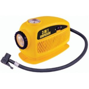 Nippon At944 12v Compact 3 In 1 Air Compressor