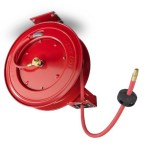 TEKTON 46781 Retractable Air Hose Reel with 50-Feet by 3/8-Inch Goodyear Rubber Air Hose
