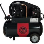 Chicago Pneumatic Reciprocating Air Compressor 2 HP, 20 Gallon, 115/230 V...