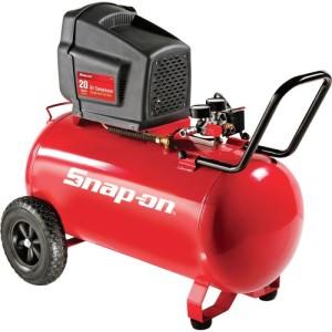 Snap-on Horizontal Air Compressor - 2 HP, 20-Gallon, Model# 871118