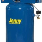Jenny Compressors GT5B-80V-230/1 5-HP 80-Gallon Tank 1 Phase 230-Volt, Vertical Electric Two-Stage Stationary Compressor